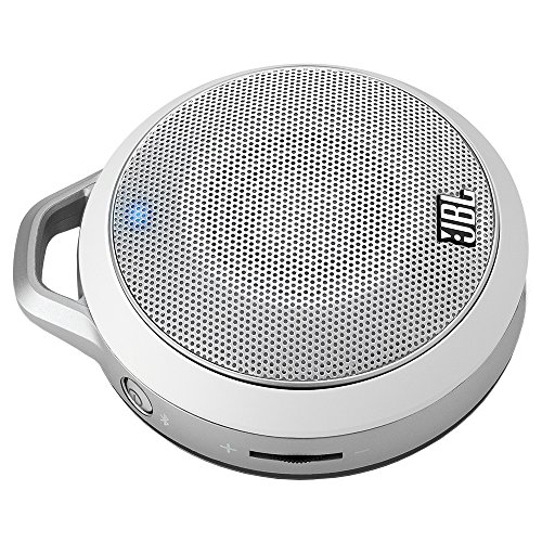 JBL Micro Wireless Ultra-Portable Speaker with Wireless Bluetooth Connectivity White
