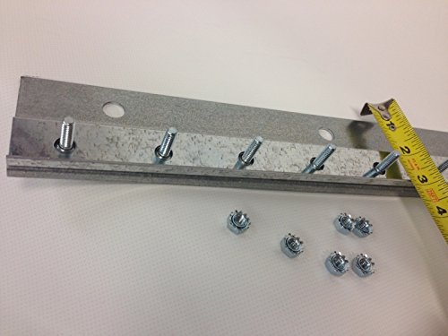 Face Mount 14 Gauge Galvanized Hardware – Length 4 Feet – Strip-Curtains.com: Hardware