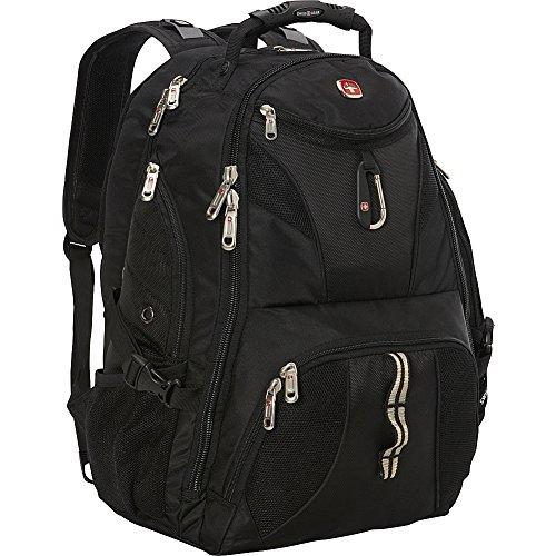 Black – SwissGear 1900 Scansmart TSA Laptop Backpack
