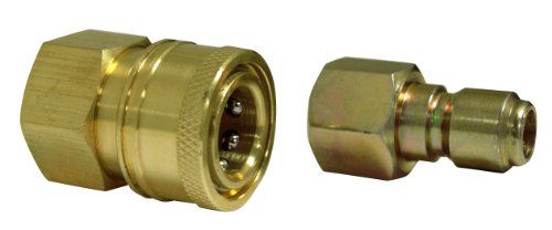 Apache 98441024 3/8″ Quick Disconnect Pressure Washer Adapter Set