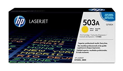 HP 503A Q7582A Yellow Original LaserJet Toner Cartridge