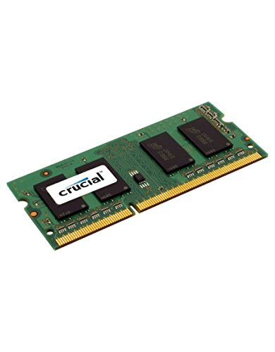 Crucial 8GB Single DDR3L 1600 MT/s PC3L-12800 SODIMM 204-Pin Memory – CT102464BF160B