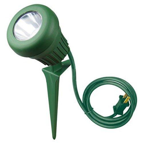 Yard Master 0434 LED 60W Floodlight, 5 LEDs, Green with 2 Extra Lenses