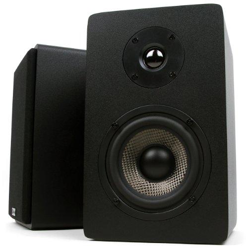 Micca PB42X Powered Bookshelf Speakers Pair