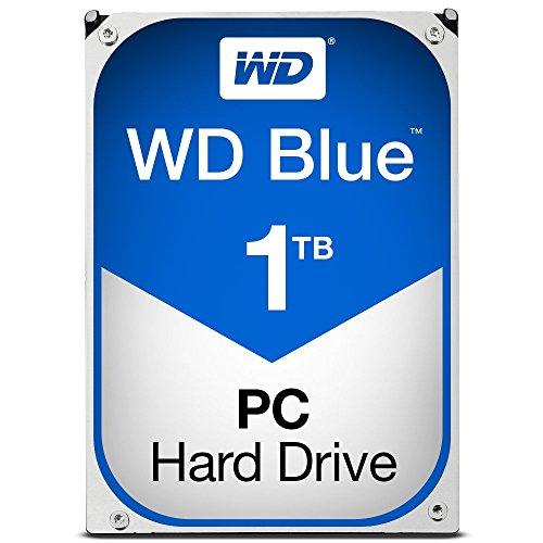 WD Blue 1TB SATA 6 Gb/s 7200 RPM 64MB Cache 3.5 Inch Desktop Hard Drive WD10EZEX