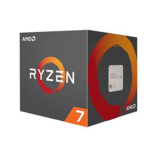 AMD Ryzen 7 1700 Processor with Wraith Spire LED Cooler YD1700BBAEBOX