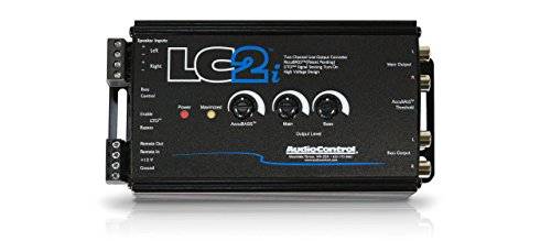 AudioControl LC2i 2 Channel Line Out Converter Wwith AccuBASS and Subwoofer Control