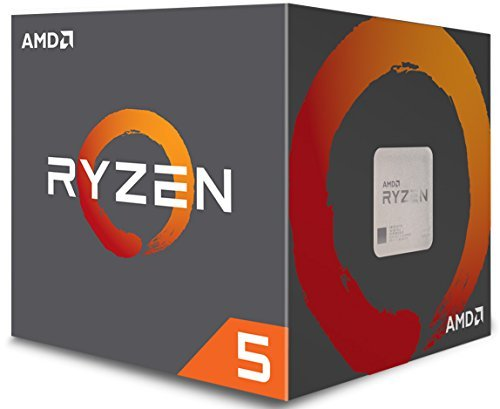 AMD Ryzen 5 1600 Processor with Wraith Spire Cooler YD1600BBAEBOX