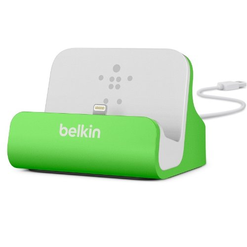 Belkin Apple Certified MIXIT Charge and Sync Dock with 4-Foot Lightning to USB Cable Green