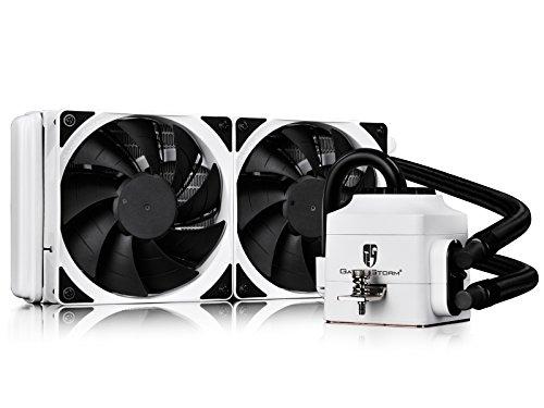 DeepCool CPU Liquid Cooler CAPTAIN 240 EX WHITE