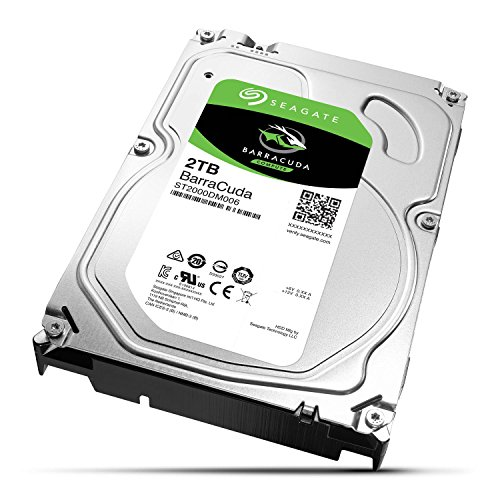 Seagate 2TB BarraCuda SATA 6Gb/s 64MB Cache 3.5-Inch Internal Hard Drive ST2000DM006