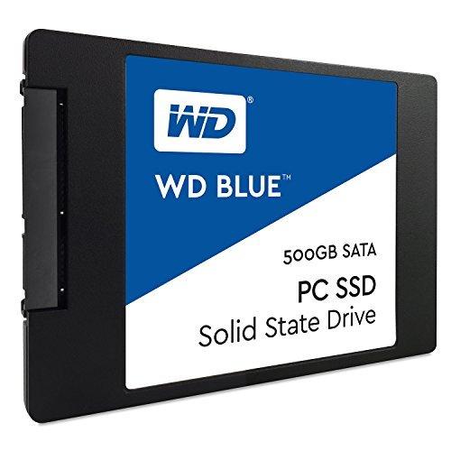 WD Blue SATA 6Gb/s 2.5 Inch 500GB Internal SSD Solid State Drive WDS500G1B0A