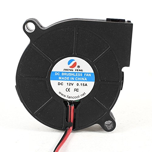DC 12V 0 15A 2 Pin Connector Cooling Blower Fan 50mmx15mm