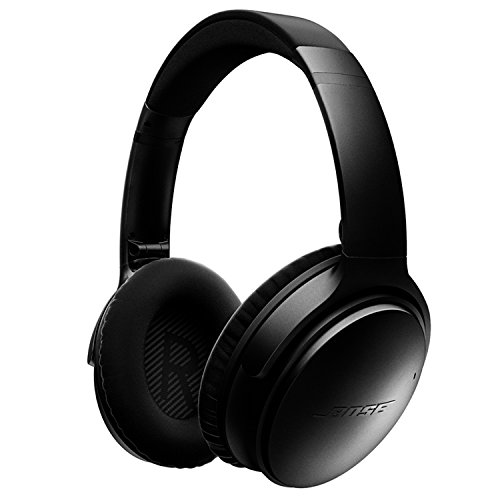 Bose QuietComfort 35 Wireless Headphones, Noise Cancelling – Black
