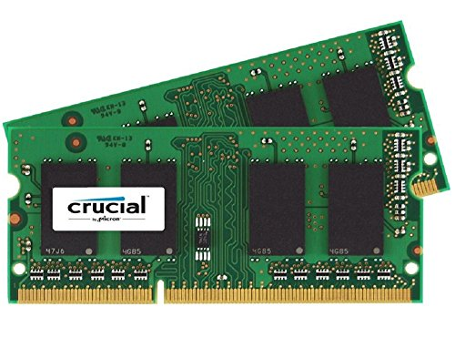 CT2K102464BF186D – Crucial 16GB Kit 8GBx2 DDR3/DDR3L 1866 MT/s PC3-14900 SODIMM 204-Pin Memory