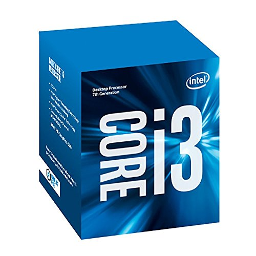 Intel Core i3-7100  7th Gen Core Desktop Processor 3M Cache,3.90 GHz BX80677I37100