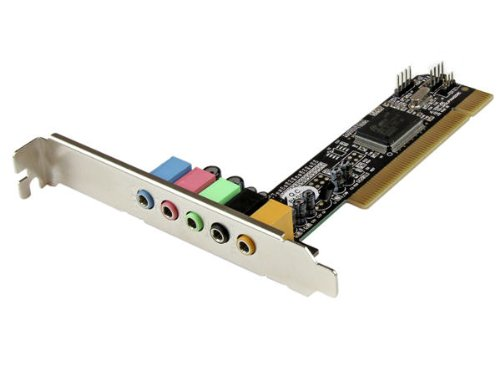 StarTech.com 5.1 Channel PCI Surround Sound Card Adapter PCISOUND5CH2