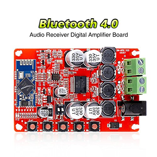 TDA7492P 2 x 25 Watt Dual Channel Amplifier Wireless Digital Bluetooth 4.0 Audio Receiver Amplifier Board 25W + 25W