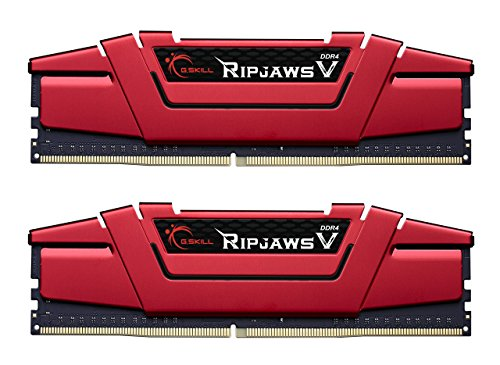 G.SKILL Ripjaws V Series 16GB 2 x 8GB 288-Pin DDR4 2400 PC4 19200 Intel Z170/X99 Desktop Memory F4-2400C15D-16GVR