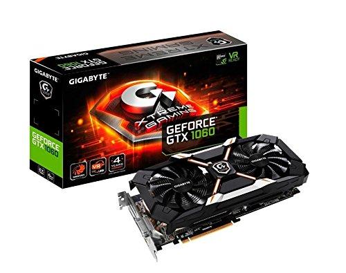 Gigabyte GeForce GTX 1060 Xtreme Gaming 6GB GDDR5 Graphics Card GV-N1060XTREME-6GD