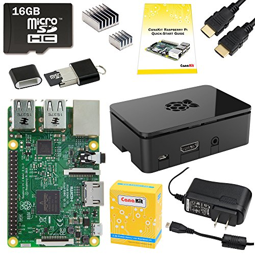 CanaKit Raspberry Pi 3 Complete Starter Kit – 16 GB Edition
