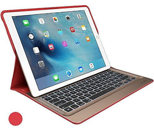 Logitech Create Backlit Keyboard Case with Smart Connector for iPad Pro12.9-Inch – Red