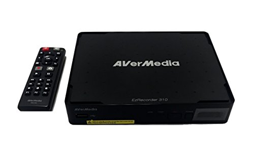 AVerMedia EZRecorder, HD Video Capture High Definition HDMI Recorder, PVR, DVR, Subscription Free, Schedule Recording, IR Blaster ER310