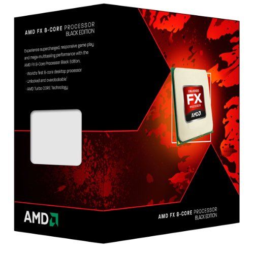 AMD FX 8-Core Black Edition FX-8300 3.3 GHz with 4.2 GHz Turbo Octa core Processor FD8300WMHKBOX