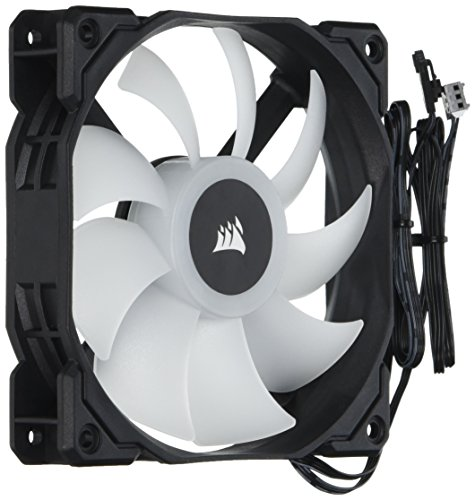 Corsair SP Series, SP120 RGB LED, 120mm High Performance RGB LED single fan, no controller