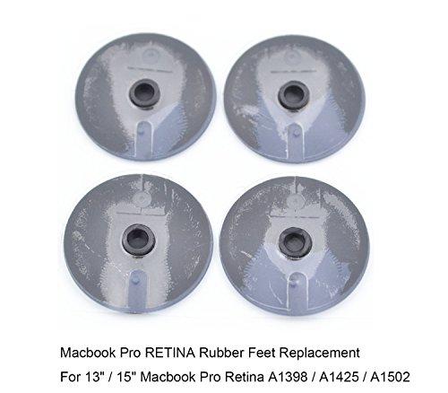 Macbook Pro RETINA Display Bottom Case Rubber Feet Replacement Set A1425 A1502 A1398 13″ 15″ – RION TECH