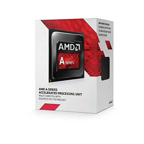 AMD A4-7300 APU Dual Core Radeon CPU Processor HD8470D Graphics FM2 3800Mhz 65W 1MB AD7300OKHLBOX