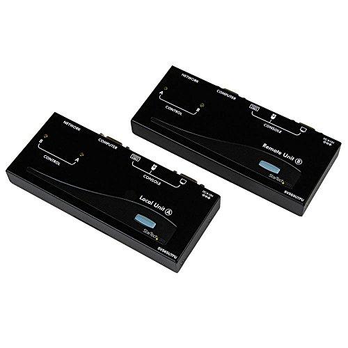 StarTech SV565UTPU VGA USB KVM Console Extender over CAT5 UTP 500-ft Black