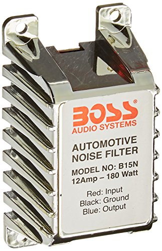 BOSS Audio B15N Noise Filter for Car Audio Systems