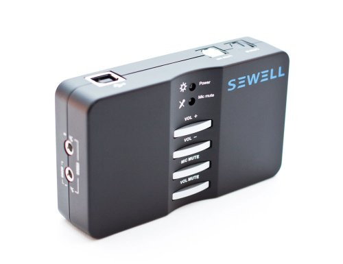 Sewell Direct Sound Box External USB Sound Card 7.1 and 5.1 Channel Audio SW-29545