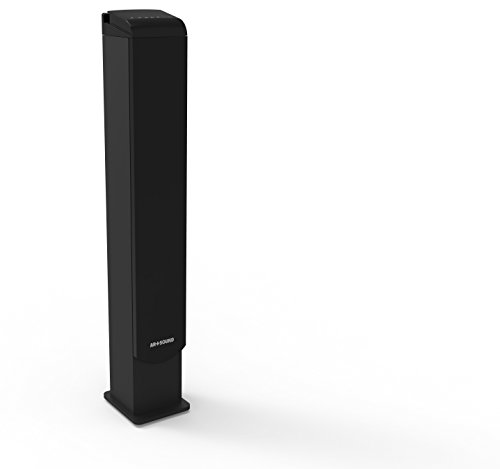 ART+SOUND AR1005 Bluetooth Tower Speaker With LED Indicator, Built-In FM Radio & Charging Docking Station, Remote Control