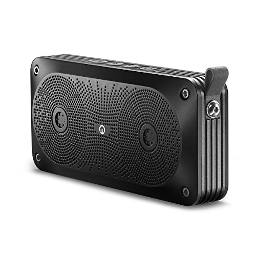Bluetooth Speaker, New Trent 7W Output Bluetooth Portable Wireless Stereo Speakers with Built in Microphone for Handfree Phone Call Black