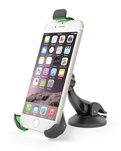 EnergyPal HC52 Windshield / Dashboard Mount, Car Smartphone Holder Cradle for iPhone , Samsung Galaxy, Note, Nexus