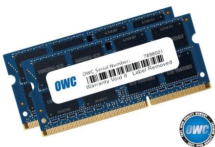 OWC 16.0GB 2 x 8GB PC3-12800 DDR3L 1600MHz SO-DIMM 204 Pin CL11 Memory Upgrade Kit For iMac, Mac mini, and MacBook Pro