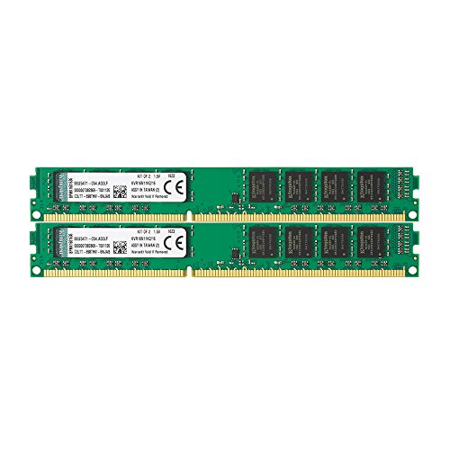 Kingston Technology 16GB Non-ECC CL11 DIMM 1600MHz DDR3 RAM KVR16N11K2/16