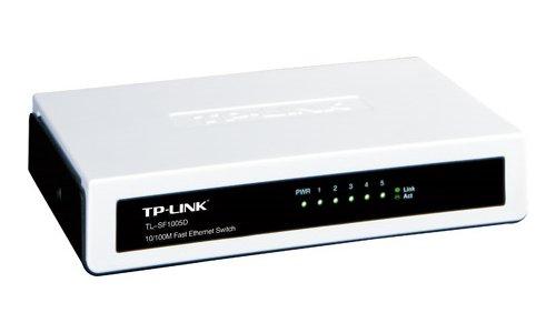 TP-Link 5-Port Fast Ethernet Desktop Switch TL-SF1005D