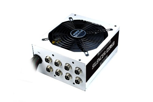 PC Power & Cooling Silencer Series 1200 Watt 80+ Platinum Semi-Modular Active PFC Industrial Grade ATX PC Power Supply PPCMK3S1200