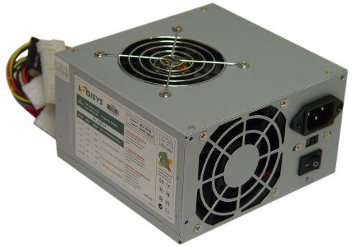 Logisys Corp. 480W 240-Pin Dual Fan 20+4 ATX Power Supply PS480D2