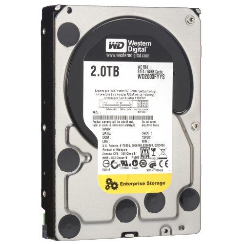 WD RE4 2 TB Enterprise Hard Drive: 3.5 Inch, 7200 RPM, SATA II, 64 MB Cache WD2003FYYS Old Model