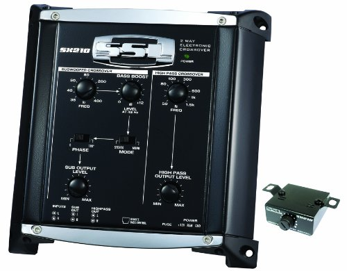 SSL SX210 2-way Pre-Amp Electronic Crossover with Remote Subwoofer Control