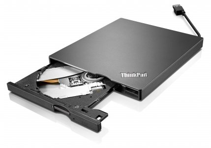 Lenovo Thinkpad Ultraslim  4XA0E97775 Usb 3.0 / Usb2.0 Portable Dvd Burner In The Factory Sealed Lenovo Retail Packaging