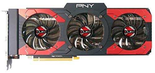 PNY GeForce GTX 1080 8GB XLR8 Gaming Overclocked Graphic Card VCGGTX10808XGPB-OC