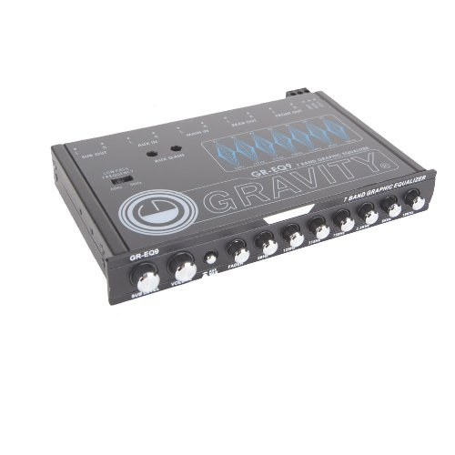 GRAVITY 7 Band Graphic Equalizer GR-EQ9