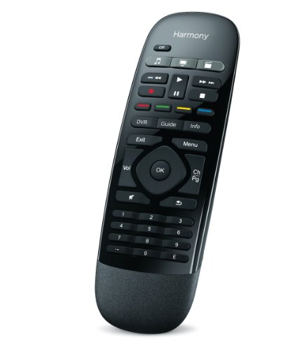 Black – Logitech Harmony Smart Control with Smartphone App and Simple All In One Remote