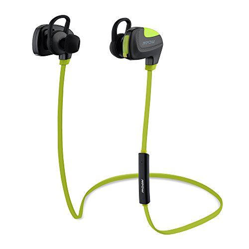 Mpow Seashell Bluetooth 4.1 Running Sports Headphones with Microphone for iPhone 6s Plus 6, Samsung Galaxy S6