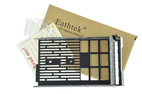 Eathtek Replacement 3.5 SAS SATA Tray Caddy Sled F238F 0F238F X968D 0X968D G302D 0G302D for Dell Poweredge T710 T610 T410 T310 T420 T320 series